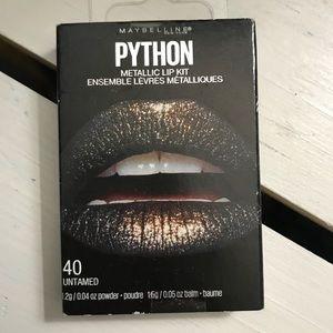 Untamed metallic lip kit smudge proof lips